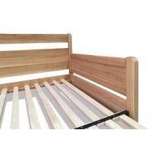 Set s matracmi Bali (s pametovou penou) - Rozkladacia posteľ z masívu Santiago