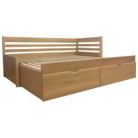 Rozkladacia postel Bellona - sety s matracmi (4)